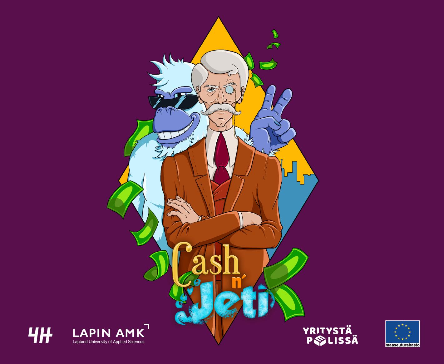 Cash n Jeti pelin hahmot